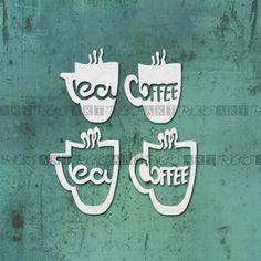 4 KUBKI coffee tea