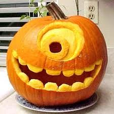 Monsters inc Pumpkin