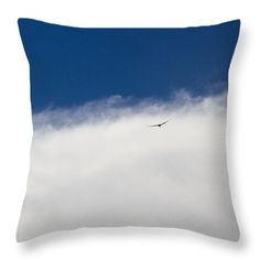 Throw Pillow featuring the photograph Flying by Silvia Bruno