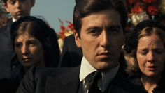 Al Pacino as Michael Corleone in The Godfather directed by Francis Ford Coppola Young Al Pacino, Godfather 1, The Expendables, Jackie Chan, Great Films, Clint Eastwood, Movie Stars, Brave, Movie Tv