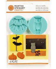 Martha Stewart Crafts - Animal Masquerade Collection - Halloween - Molds - Spooky