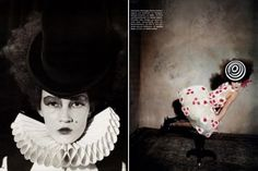 more circus-themed fashion photography