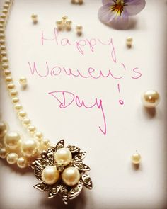Happy Women's Day! ❤❤❤ #happyinternationalwomensday #bestrong #bekind #beyourself #love #peace #happyness #beads #pearl #pearlbracelet… Ladies Day, Pearl Bracelet, Peace, Happy, Instagram, Jewelry, Jewlery, Jewerly, Schmuck