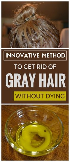 Thicker Hair Remedies Innovative method to get rid of gray hair without dying. - Innovative method to get rid of gray hair without dying. Herbal Remedies, Health Remedies, Natural Remedies, Pelo Natural, Belleza Natural, Beauty Care, Beauty Hacks, Beauty Tips, Beauty Quotes