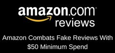 Amazon Book Review Policies Updated With $50 Minimum  Amazon combats fake book reviews with $50 minimum spend Book reviews on Amazon over the years have attracted more scams than can possibly be imagined. Most revolve around click farms and amassing lots of Amazon accounts. By creating hundreds, if not thousands of Amazon accounts, scammers could... https://www.justpublishingadvice.com/amazon-book-review-policies-updated-with-50-minimum/?utm_source=SNAP&utm_medium=nextscripts