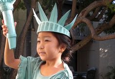 Lena Sekine's Statue of Liberty costume was a favorite in our Green Halloween Costume Contest. Her daughter Maya decided she was over princess costumes and wanted to be something completely different. After learning about the Statue of Liberty in school, she asked to portray Lady Liberty for Hal ...
