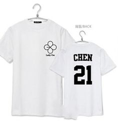 HEY! Are You Feeling Lucky Today? This Is One Of Our Most Popular EXO T-Shirts! Choose Between All Band Members.