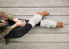 Cabled legwarmers - Free Crochet Pattern