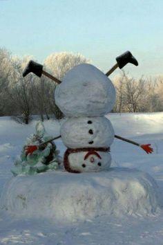 upside snowman!!!! cute!!!
