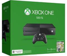 Игровая приставка Xbox One 500 ГБ + FIFA 17  — 27990 руб. —  Xbox One - игровая консоль компании Microsoft c лучшими играми и самым продвинутым мультиплеером за всю историю Xbox. Благодаря регулярным обновлениям и улучшениям Xbox One дает больше возможностей в любимых играх. С помощью стриминга можно играть в игры с Xbox One на любом домашнем ПК или планшете с Windows 10. Беспроводной геймпад Xbox One дает бесподобные ощущения, точность и комфорт. Импульсные триггеры обеспечивают…