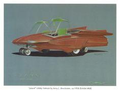 Lizard Utility Vehicle by Jerry Brochstein, 1958