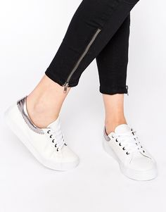 ASOS DANTE Lace Up Trainers