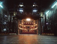 klaus frahm documents theater architecture from an actor's point-of-view