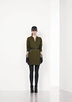 presents the New Fall Winter 2012 Collection for Unconventional Chic Women. Military Jacket, Fall Winter, Army, Woman, Chic, Jackets, Collection, Fashion, Moda