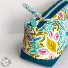 sewing tutorial pouch ♥