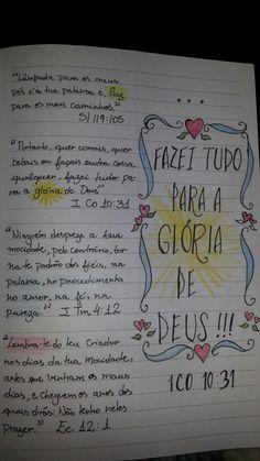 Versículos que marcaram minha fé.