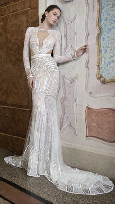 Alon Livne White Wedding Dress ~ Wedding Dress ~ Wedding Gown ~ Bridal Fashion ~ 2015 Wedding Dresses