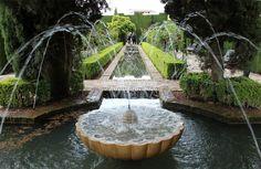 Alhambra de Granada #spain#granada#alhambra#jardines