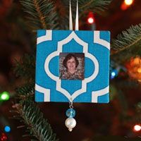 Christmas Scrap Craft Ornaments to make