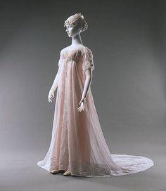 Regency dress 1805