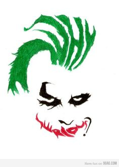 """why so serious?  Eric's favorite movie...""""here we go!"""""""