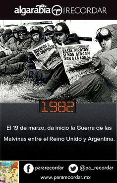 Un día como hoy de 1982 inicia la Guerra de las Malvinas (vía @pa_recordar):