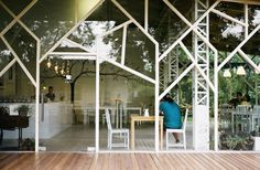 A collaboration between HOKO and AMA architectural studio in Taiwan, the AGRIOZ museum + cafe project