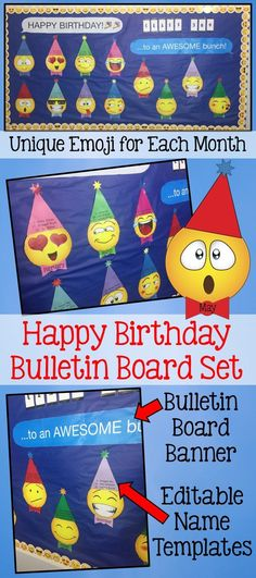 birthday bulletin board templates - 1000 images about teaching resources on pinterest task