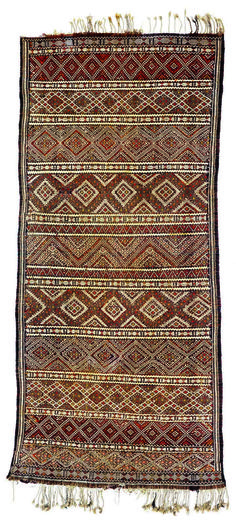 "Africa | Rug ""Hanbel"" from the Berber people 