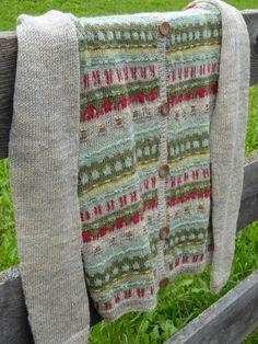 Båhus-knitting in style Crochet Cardigan, Knit Crochet, Fair Isles, Fair Isle Pattern, 40s Fashion, Cardigans, Sweaters, Knit Jacket, Jumpers