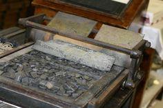 Generación del 27: Antigua Imprenta Sur. Plancha de pruebas de páginas.
