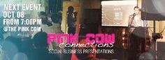 10/08 #110 PCC Social Business Presentation - Pink Cow Connections- Social Business Presentations (Tokyo) - Meetup