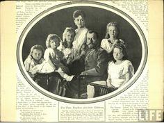 otmacamera: Tsar Nicholas II with his family in 1906