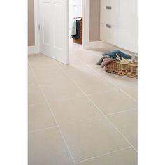 Ceramic floor Hallways - Wickes Urban Beige Ceramic Tile 330 x Linoleum Flooring, Terrazzo Flooring, Brick Flooring, Kitchen Flooring, Hardwood Floors, Penny Flooring, Flooring Ideas, Basement Flooring, Ceramic Floor Tiles