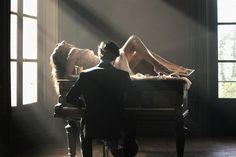 Gabriella & Nicolas by Pierre Dal Corso for Collezioni Russia Piano Photography, Photography Portfolio, Wedding Photography, Fashion Jobs, Ikea Home, Boudoir Photos, Romanticism, My Passion, Fashion Pictures