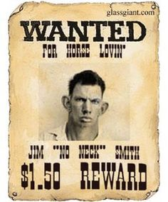 "Turn your picture into a ""wanted"" poster. You can use the poster graphic to personalize a website or blog, use it as a MSN display image, or email it to your friends.    Select Your Picture  For best results:        Take a closeup of a person's face without much background.      Take it in front of a white or light-colored wall.      A cowboy hat, toy pistol or bandana adds a bit of fun."