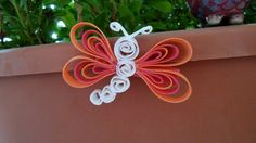 Butterfly Ribbon Clip. $4.00, via Etsy.