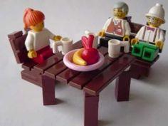 How to make Lego furniture 5 - YouTube
