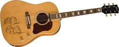 GibsonJohn Lennon 70th Anniversary J-160E MuseumIt's got faces on it!