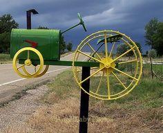 Rural Mailbox - Stock Photo