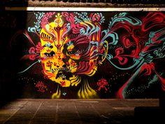 STINKFISH _ Indoor Mural _ Los Angeles, USA