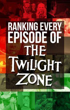 "Ranking Every Episode Of ""The Twilight Zone"" #TwilightZONE #BestTVshowEVA"