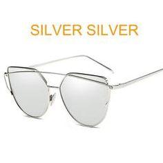 96d93316dc877 Brand Designer Metal Reflective Mirror Sunglasses Rose Gold Mirrored  Sunglasses