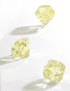 An Impressive Fancy Yellow Diamond, 40.62 carats. Sotheby's NY Magnificent Jewels, Dec.11, 2013.