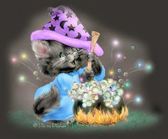 penny parker art | Crystalex Graphic Designs~Penny Parker~Witches Brew