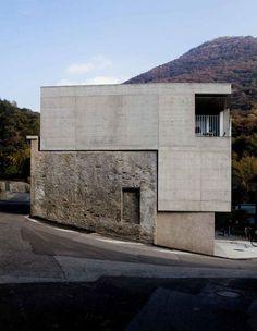 Andrea Frapolli Architetto - Casa Lafranchi & Guglielmoni,... - #Andrea #Architetto #Casa #Frapolli #Guglielmoni #Lafranchi #structure