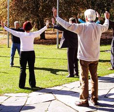 Healing Yourself with Qi Gong Energy Qi Gong, Social Transformation, Ocean Front Homes, Gym Facilities, Outdoor Gym, Material World, Senior Living, Tai Chi, Physical Activities