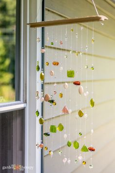Make a Beaded Suncatcher Mobile (and Protect Wild Birds) Z