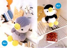 Amigurumi Crochet Penguin - Free Chart Pattern