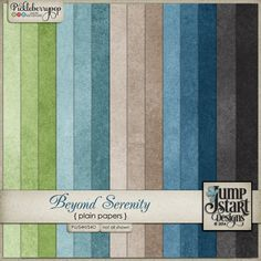 Beyond Serenity ~ Plain Papers by Jumpstart Designs